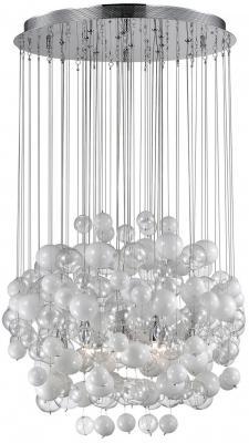 Подвесная люстра Ideal Lux Bollicine SP14 Bianco