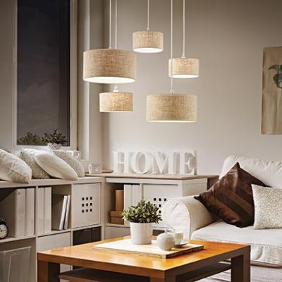 Подвесная люстра Ideal Lux Ekos SP5 Canvas подвесная люстра ideal lux ekos sp5 bianco