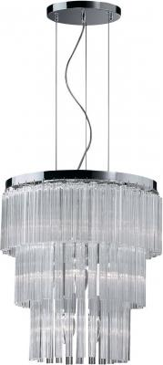 Подвесная люстра Ideal Lux Elegant SP12 люстра ideal lux caesar caesar sp12 cromo