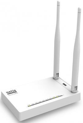 Беспроводной маршрутизатор ADSL Netis DL-4323U 802.11bgn 300Mbps 2.4 ГГц 4xLAN белый