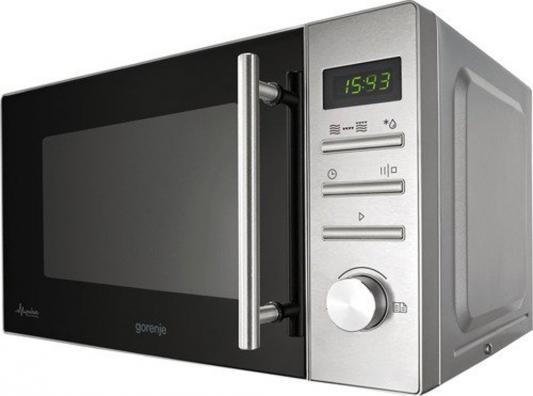СВЧ Gorenje MMO20DGEII 800 Вт серебристый микроволновая печь gorenje mmo20dgeii mmo20dgeii