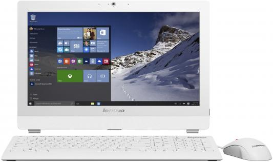 "Моноблок 19.5"" Lenovo S200z 1600 x 900 Intel Celeron-J3060 4Gb 500Gb Intel HD Graphics Windows 10 белый 10K1000KRU"