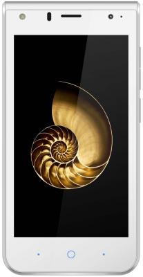 Смартфон ZTE Blade A210 белый 4.5 8 Гб LTE Wi-Fi GPS 3G смартфон zte blade a510 синий 5 8 гб lte wi fi gps 3g