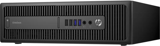 Системный блок HP EliteDesk 800G2 i5-6500 3.2GHz 4Gb 128Gb SSD HD530 DVD-RW Win10Pro клавиатура мышь черный X3J29EA