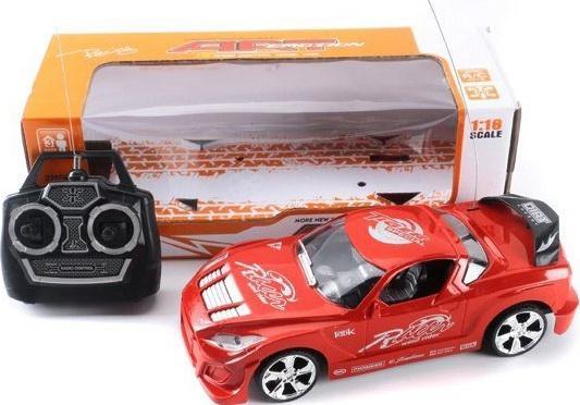 Машинка на радиоуправлении Shantou Gepai 4 канала пластик от 3 лет красный 629588