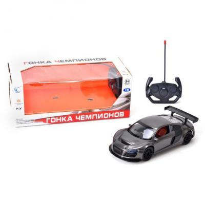 Машинка на радиоуправлении Shantou Gepai Гонка чемпионов пластик от 6 лет серый 6927066287111