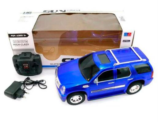 Машинка на радиоуправлении Shantou Gepai UD2050C пластик от 3 лет синий 6927711995651