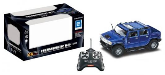 Машинка на радиоуправлении Shantou Gepai Hummer пластик от 8 лет синий 6927077936565