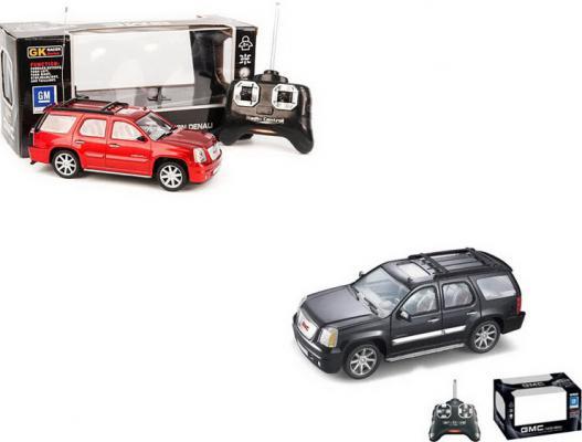 Машинка на радиоуправлении Shantou Gepai 1:24, GMC, 4 канала, свет пластик от 8 лет в ассортименте