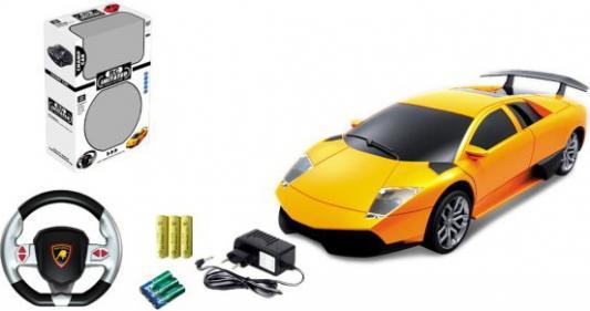 Машинка на радиоуправлении Shantou Gepai 1:24, 4 канала, аккум., USB з/у, звук на руле, свет — от 3 лет в ассортименте 61654