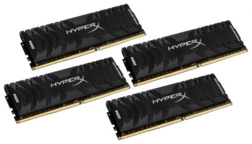 Оперативная память 64Gb (4x16Gb) PC4-24000 3000MHz DDR4 DIMM CL15 Kingston HX430C15PB3K4/64