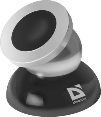 Автомобильный держатель Defender CH-106+ 360° для смартфонов черный 29106 автомобильный держатель defender ch 124 для смартфонов шириной 55 90мм 29124