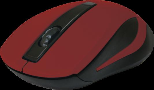 Фото - Мышь беспроводная DEFENDER MM-605 красный USB 52605 беспроводная bluetooth колонка edifier m33bt