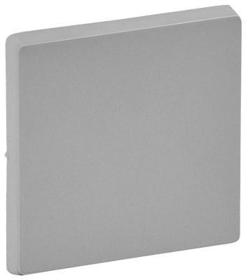 Лицевая панель Legrand Valena Life для переключателя промежуточного алюминий 755072