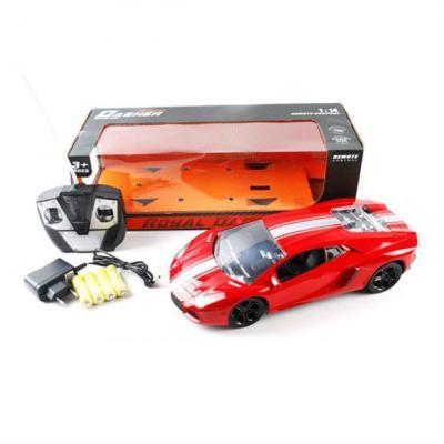 Машинка на радиоуправлении Shantou Gepai Royal пластик от 3 лет красный 6927714531245
