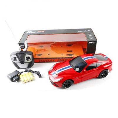 Машинка на радиоуправлении Shantou Gepai Royal Dasher пластик от 3 лет красный 6927714531290 машинка на радиоуправлении shantou gepai 3700 23g пластик от 3 лет красный 6927714066112