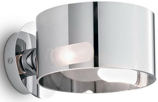 Купить Настенный светильник Ideal Lux Anello AP1 Cromo