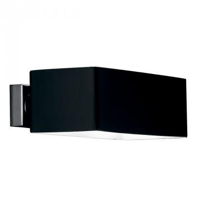 Купить Настенный светильник Ideal Lux Box AP2 Nero