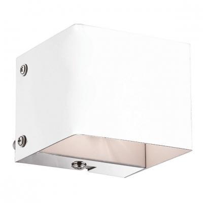 Настенный светильник Ideal Lux Flash AP1 Bianco настенный светильник ideal lux flash ap1 bianco
