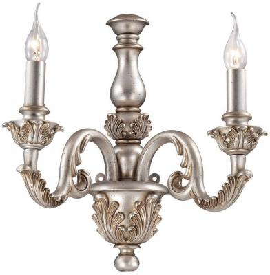 Бра Ideal Lux Giglio AP2 Argento бра ideal lux opera ap3 argento