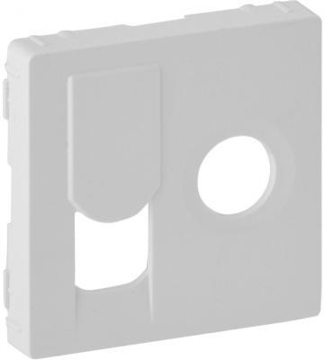 Лицевая панель Legrand Valena Life для розетки TV-RJ45 белый 754830 лицевая панель legrand valena life розетки tv белая 754760