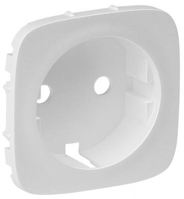 Лицевая панель Legrand Valena Allure для розетки 2К+З жемчуг 755209  лицевая панель legrand valena allure для розетки 2к з антрацит 755208