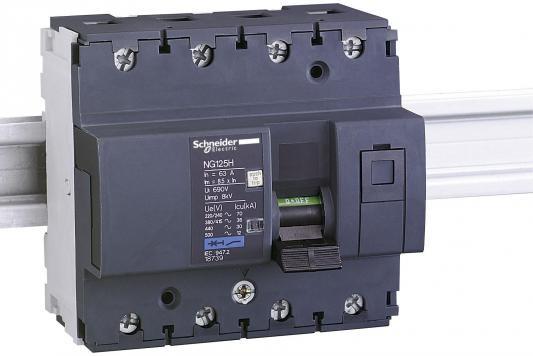 Автоматический выключатель Schneider Electric NG125H 4П 80A C 18740