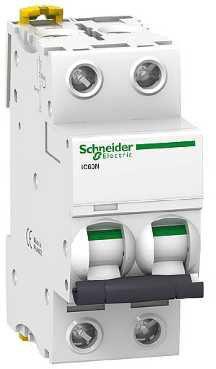 Автоматический выключатель Schneider Electric iC60N 2П 3A C A9F74203