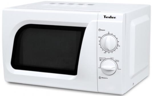 СВЧ TESLER MM-1713 700 Вт белый свч tesler mm 1711 700 вт белый
