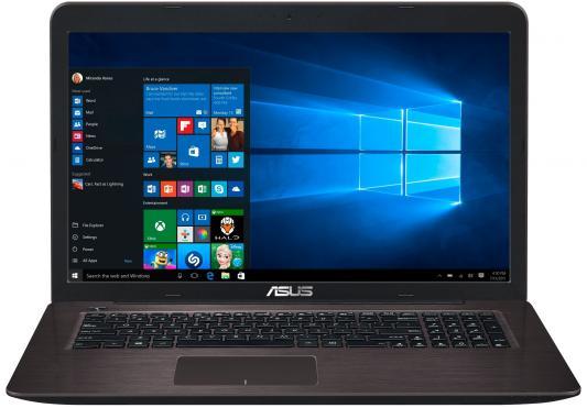 Ноутбук ASUS X756UQ-T4216T 17.3 1920x1080 Intel Core i3-6100U 90NB0C31-M02350