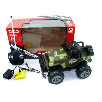 Военный автомобиль на радиоуправлении Shantou Gepai Джип военный пластик от 6 лет камуфляж 6927710977566