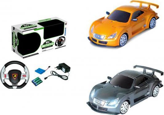 Машинка на радиоуправлении Shantou Gepai 1:18, 4 канала, аккум., USB з/у, свет, звук на руле пластик от 3 лет в ассортименте