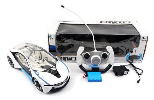 Машинка на радиоуправлении Shantou Gepai Concept пластик от 3 лет белый