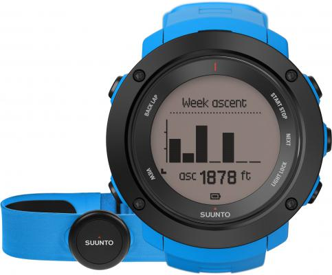 Смарт-часы Suunto Ambit3 Vertical HR синий SS021968000