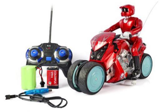 Мотоцикл на радиоуправлении Shantou Gepai Мотоцикл пластик от 3 лет ассортимент