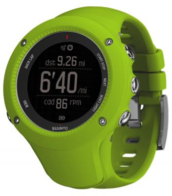 Смарт-часы Suunto Ambit3 Run HR зеленый SS021261000