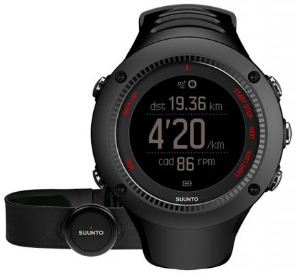 Смарт-часы Suunto Ambit3 Run HR черный SS021257000