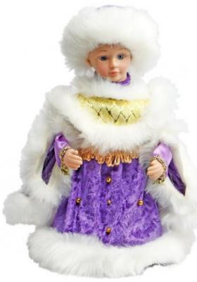 Кукла Новогодняя сказка Снегурочка фиолетовый 30 см 1 шт текстиль, пластик, искусственный мех чайник bosch twk 1201n