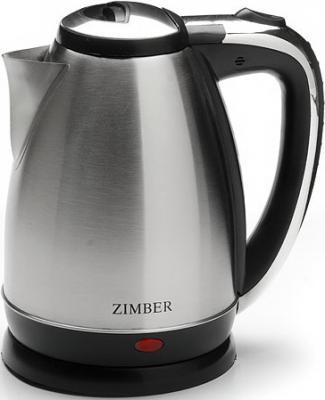 Чайник Zimber ZM-10760-1 1500 Вт серебристый 1.8 л металл