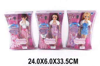 Кукла Shantou Gepai Зимний праздник с аксесс., в ассорт.