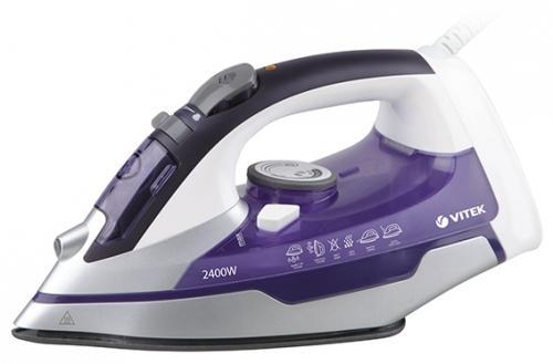 Утюг Vitek 1257(VT) 2400Вт фиолетовый ручной фонарик blog 14 led slt p009