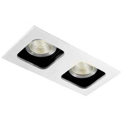 Встраиваемый светильник Donolux DL18614/02WW-SQ White/Black