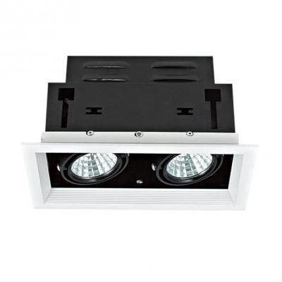 Встраиваемый светодиодный светильник Lucia Tucci Opzione 536.2-5W*2-WT/BK
