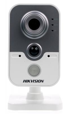 Камера IP Hikvision CUBE CMOS 1/2.8 2688 x 1520 H.264 MJPEG RJ-45 LAN PoE белый серый DS-2CD2442FWD-IW hd 1080p indoor poe dome ip camera vandal proof onvif infrared cctv surveillance security cmos night vision webcam freeshipping