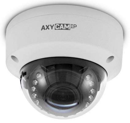 "Камера IP Axycam AD10-43V12NIL-P CMOS 1/2.8"" 1920 x 1080 H.264 RJ-45 LAN PoE белый"