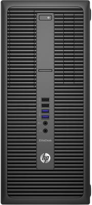 Системный блок HP EliteDesk 800 G2 TWR i7-6700 3.4GHz 8Gb 256Gb SSD GTX960-2Gb DVD-RW Win10Pro клавиатура мышь черный X3J18EA
