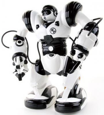 Интеллектуальный робот Shantou Gepai Тиктоник 35 см танцующий двигающийся на радиоуправлении светящийся со звуком