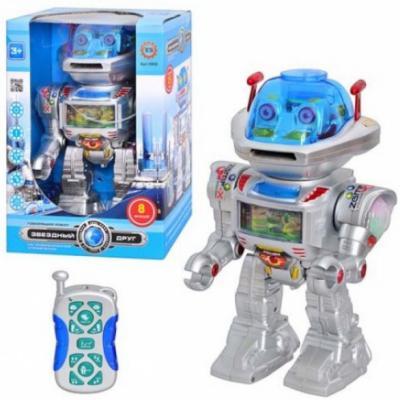 Интеллектуальный робот Shantou Gepai Линк 30 см танцующий двигающийся на радиоуправлении со звуком светящийся