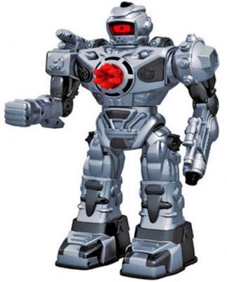 Боевой робот Shantou Gepai 37 см на радиоуправлении со звуком светящийся двигающийся танцующий