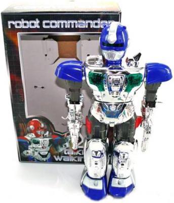 Боевой робот Shantou Gepai Robot Commander 38 см двигающийся со звуком светящийся JL-728D боевой робот shantou gepai властители уран 29 см двигающийся со звуком светящийся 921